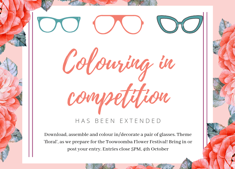 Neilson Eyecare Flower Festival Colouring in Competition