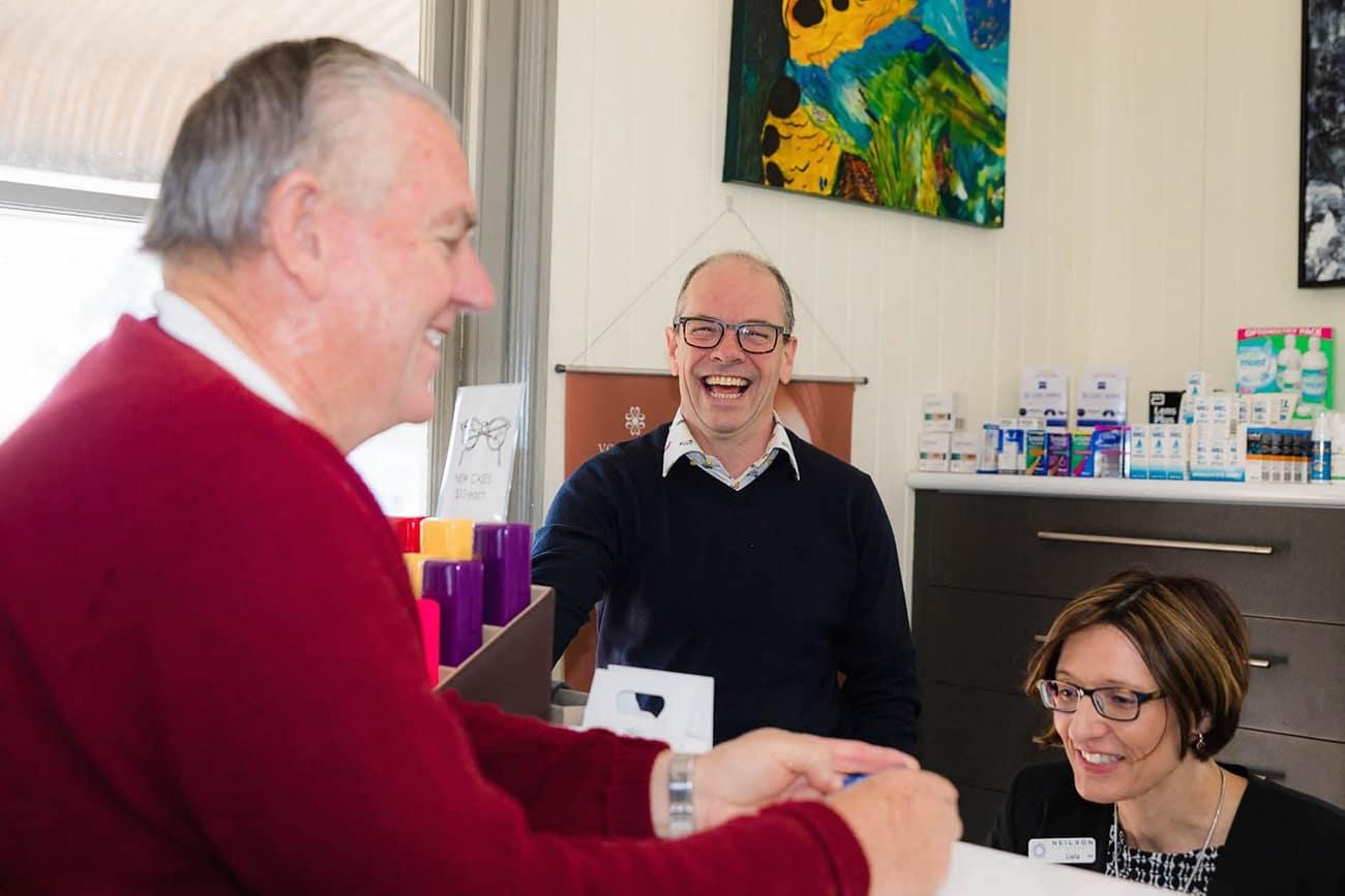 David Neilson Optometrist Neilson Eyecare About Us